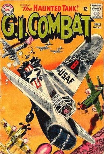 G.I. Combat (1952) #101, cover by Jerry Grandenetti.