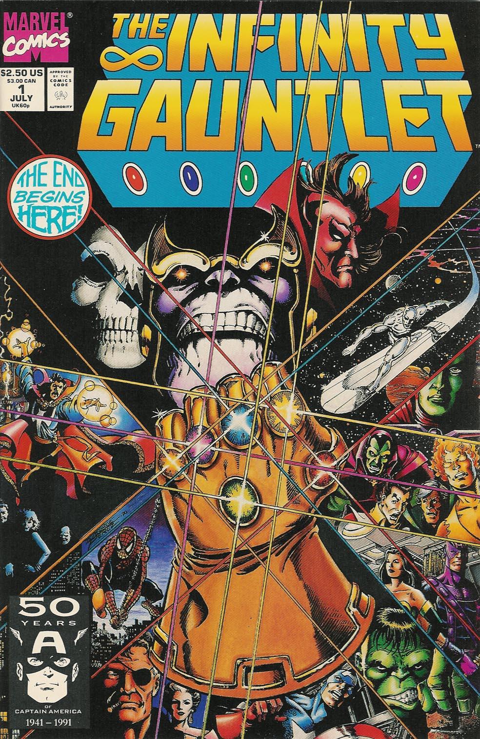 Infinity Gauntlet (1991) #1.