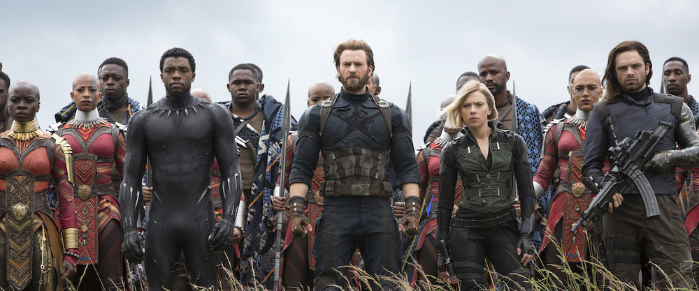 The Heroes take the front line in the battle for Wakanda.