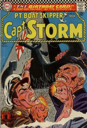 Captain Storm (1964) #13, cover penciled by Ross Andru & inked by Mike Esposito.