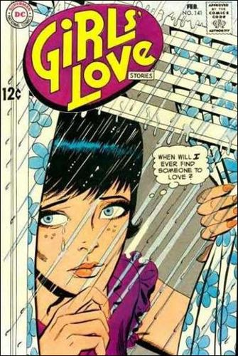 Girls' Love Stories (1949) #141, cover penciled by Ric Estrada & inked by Mike Esposito.