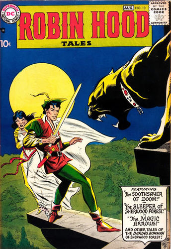 Robin Hood Tales (1956) #10, cover penciled by Ross Andru & inked by Mike Esposito.