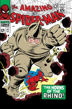Amazing Spider-Man (1963) #41, cover penciled by John Romita & inked by Mike Esposito.