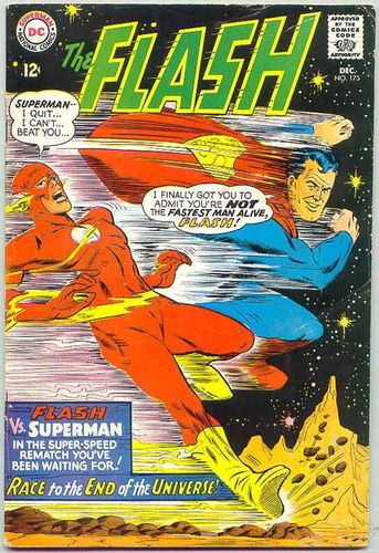 The Flash (1959) #175, cover penciled by Carmine Infantino & inked by Mike Esposito.