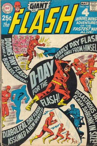 The Flash (1959) #187, cover penciled by Ross Andru & inked by Mike Esposito.