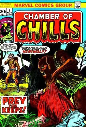 Chamber of Chills (1972) #7, cover penciled by Ron Wilson & inked by Mike Esposito.