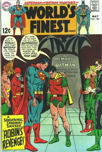 World's Finest Comics (1941) #184, cover penciled by Curt Swan & inked by Mike Esposito.