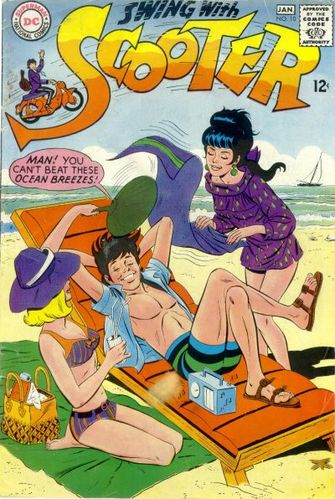 Swing With Scooter (1966) #10, cover penciled by Joe Orlando & inked by Mike Esposito.