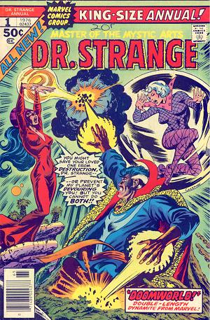 Doctor Strange Annual (1976) #1, written by P. Craig Russell & Marv Wolfman.