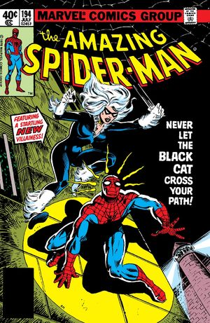 Amazing Spider-Man (1963) #194, written by Marv Wolfman.