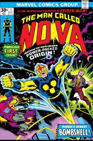 Nova (1976) #1, written by Marv Wolfman.