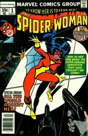 Spider-Woman (1978) #1, written by Marv Wolfman.