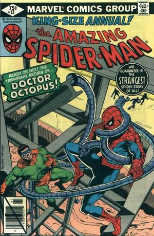 Amazing Spider-Man Annual (1964) #13, written by Marv Wolfman.