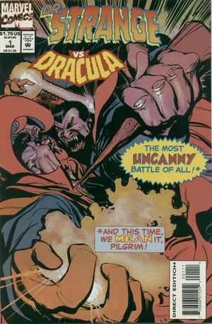 Doctor Strange vs Dracula (1994) #1, written by Marv Wolfman.