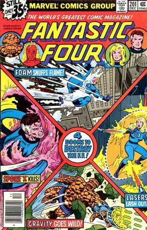 Fantastic Four (1961) #201, written by Marv Wolfman.