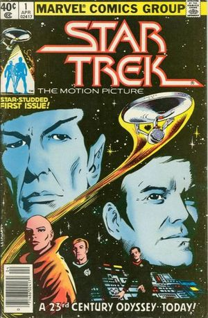 Star Trek (1980) #1, written by Marv Wolfman.