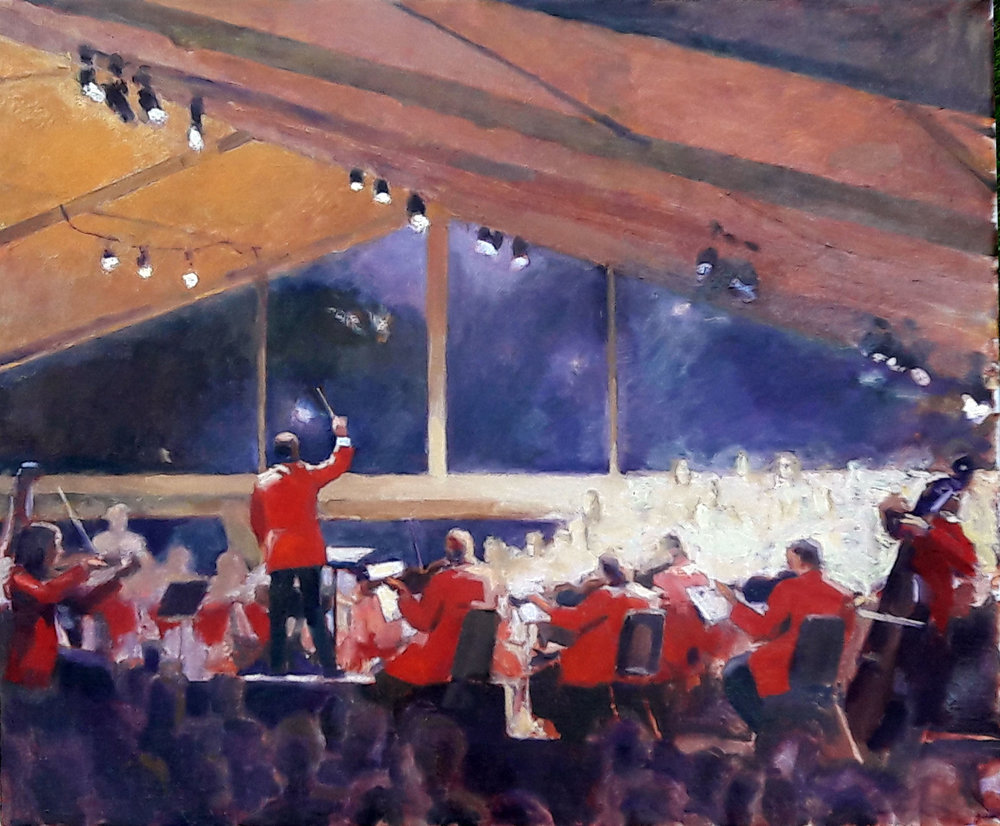 August Concert , painted by Clem Robins.