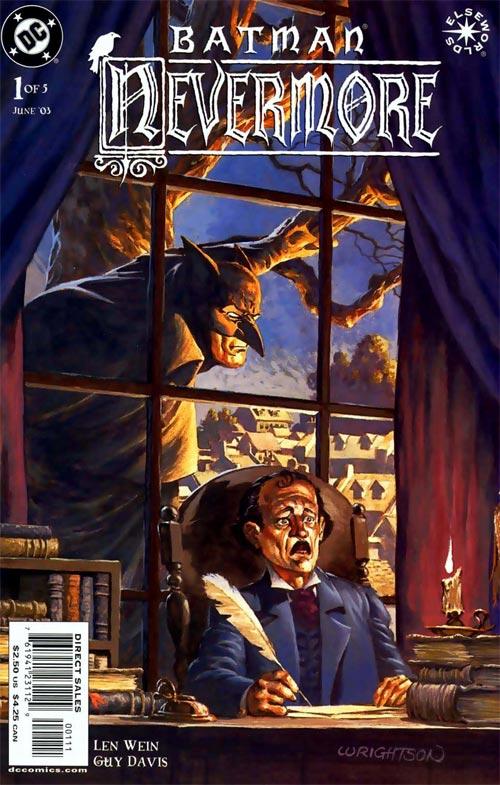 Batman:Nevermore (2003) #1, Cover by Berni Wrightson.