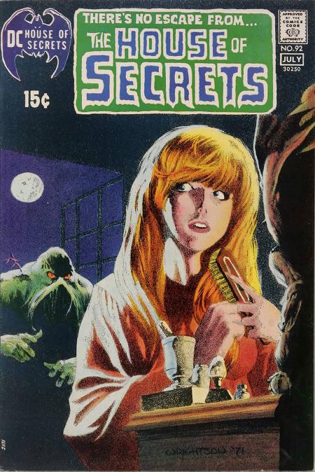 House of Secrets (1956) #92, cover by Berni Wrightson.