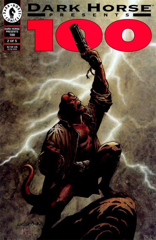 Dark Horse Presents (1986) #100-2, cover by Berni Wrightson.
