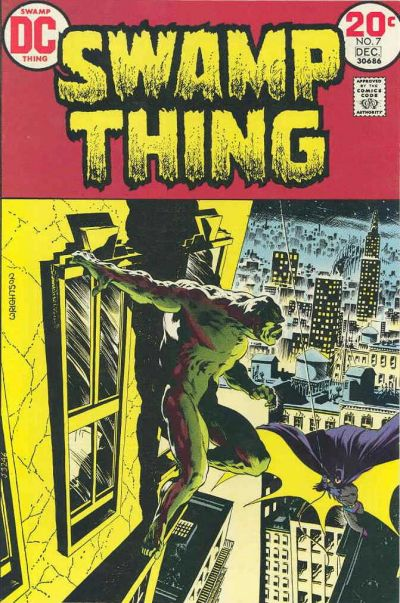 Swamp Thing (1972) #7, cover by Berni Wrightson.