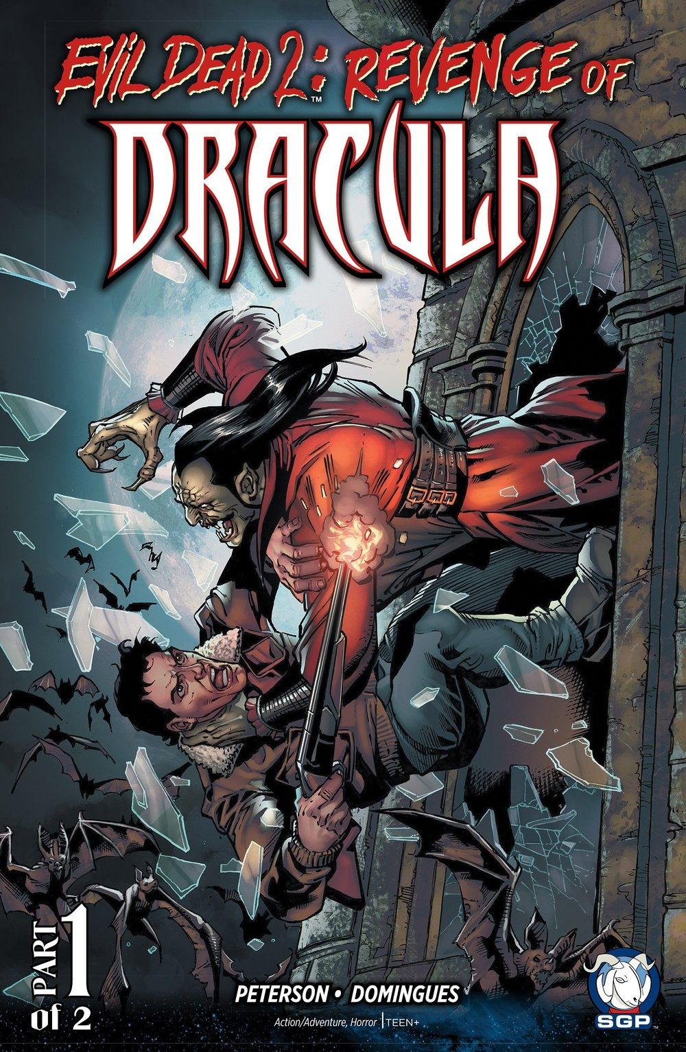 Evil Dead 2 Revenge Of Dracula (2016) #1, cover penciled by Yvel Guichet and inked by Joe Rubinstein.