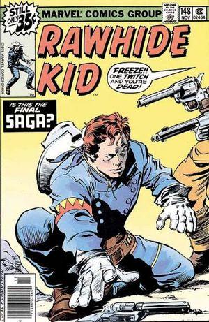 Rawhide Kid (1955) #148, cover penciled by Gene Colan and inked by Joe Rubinstein.