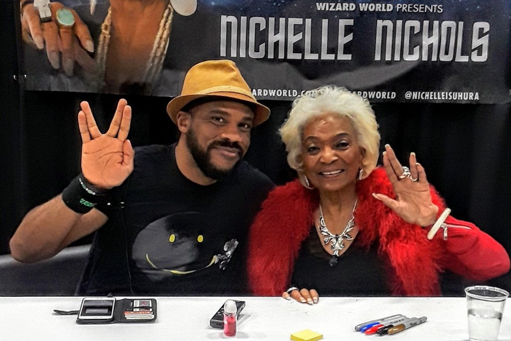 What the Future Holds: An Interview With Nichelle Nichols (Wizard World Des Moines 2018)   Written by R. Alan Brooks