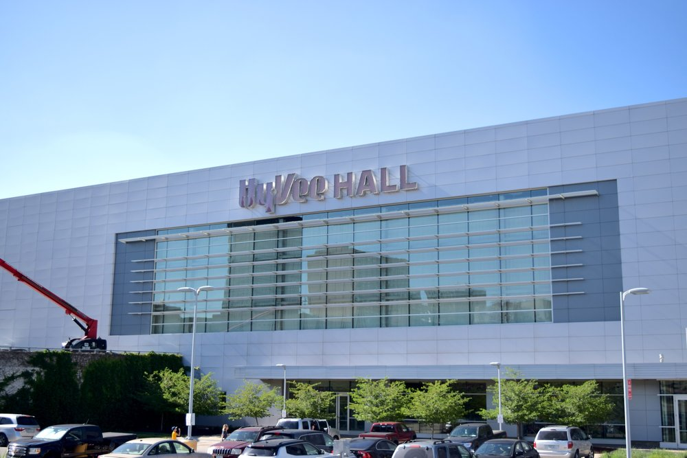 The HyVee Hall, home of Wizard World Des Moines 2018.