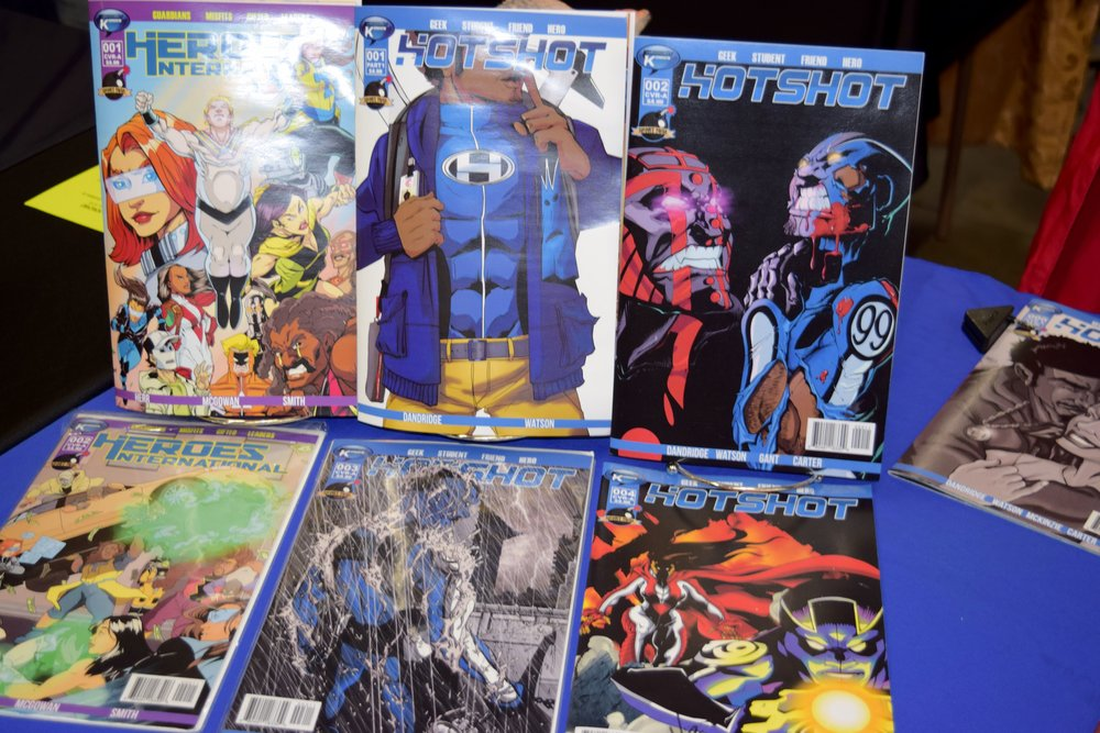 HotShot  comics by  Mike Watson .