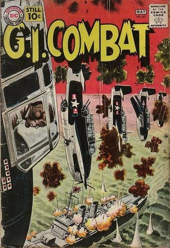 GI Combat (1952) #87, cover by Russ Heath and Jack Adler.
