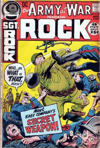 Our Army at War (1952) #238, cover by Joe Kubert and Jack Adler.