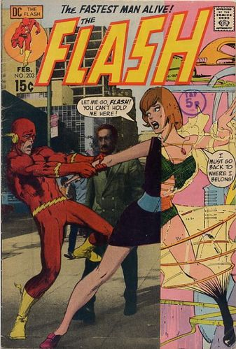 The Flash (1959) #203, cover by Neal Adams and Jack Adler.