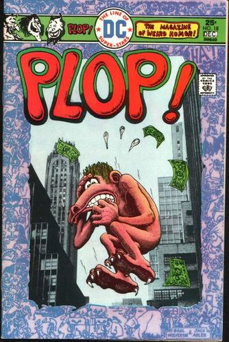 Plop (1973) #18, cover by Basil Wolverton and Jack Adler.