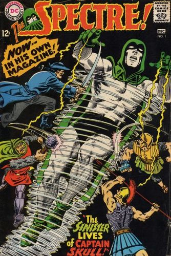 Spectre (1967) #1, cover by Murphy Anderson and Jack Adler.