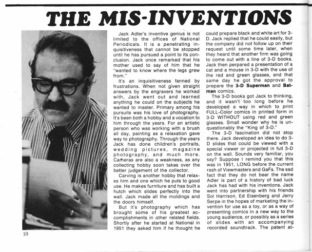 The Mis-Inventions of Jack Adler.