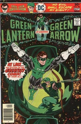 Green Lantern (1960) #90, cover by Mike Grell.