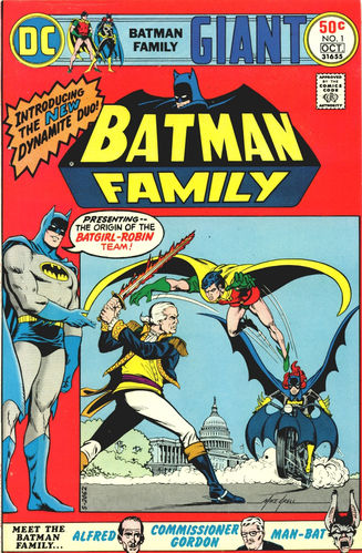 Batman Family (1975) #1, cover by Mike Grell.