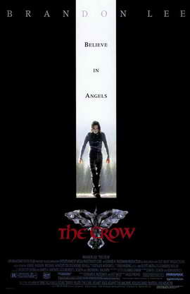 A movie poster for the 1994 movie,  The Crow .