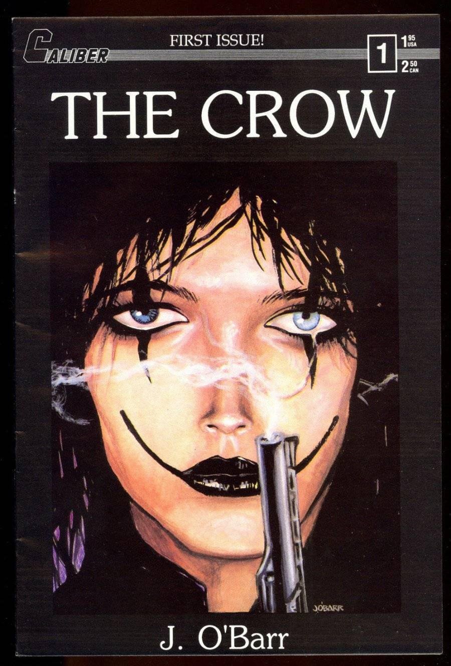 The Crow (1989) #1  by  James O'Barr .