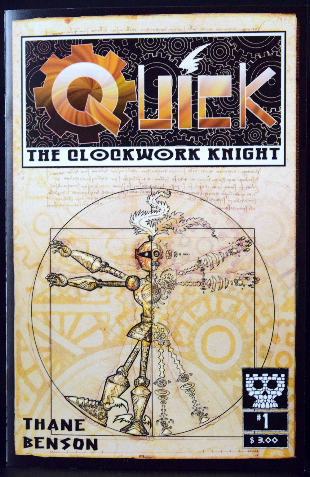 Quick the Clockwork Knight #1  by  Thane Benson .