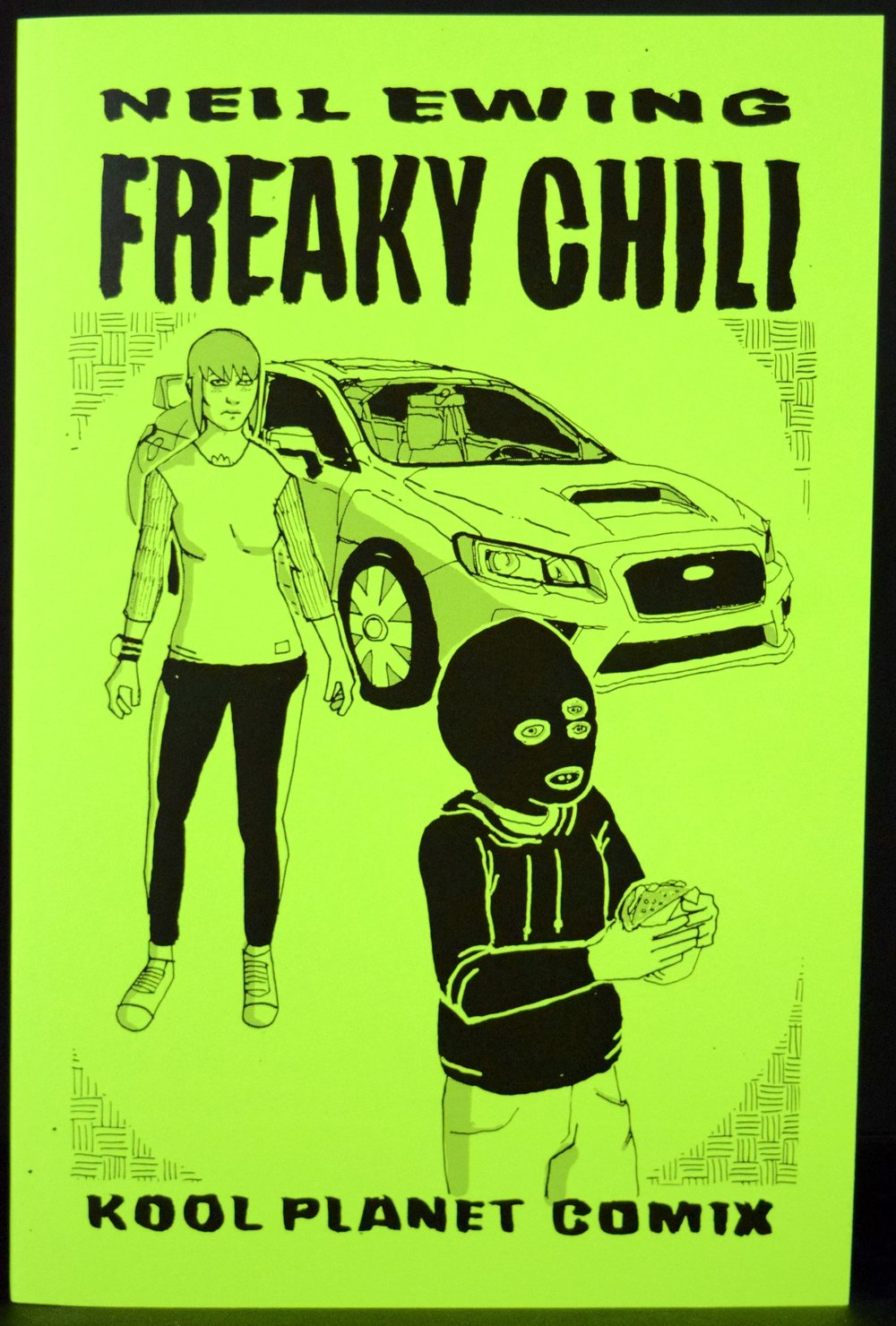 Freaky Chili  by  Neil Ewing .