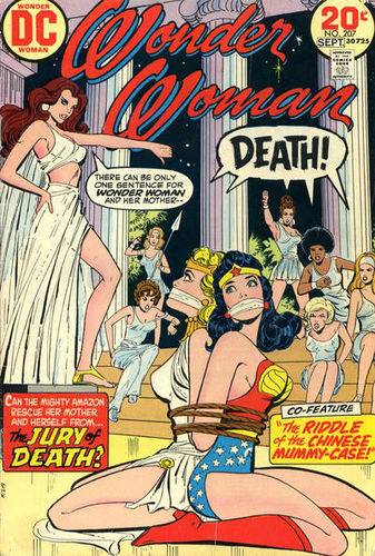 Wonder Woman (1942) #207, cover by Ric Estrada.