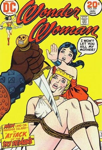 Wonder Woman (1942) #209, cover by Ric Estrada.