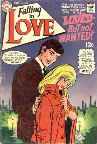 Falling in Love (1955) #105, cover by Ric Estrada.