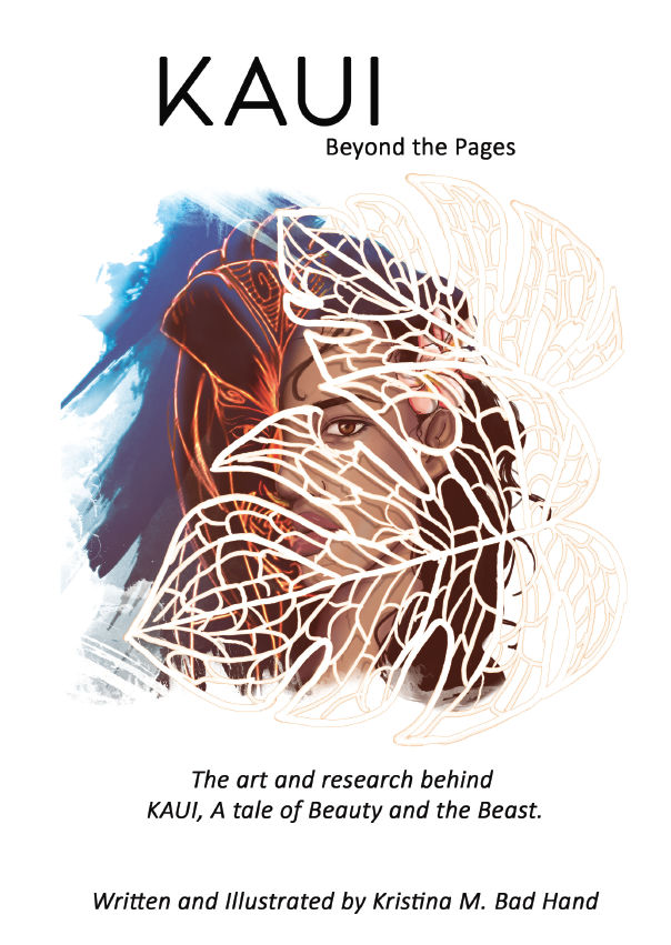 Kaui: Beyond the Pages (2018) #1, cover by Kristina Maldonado-Bad Hand.