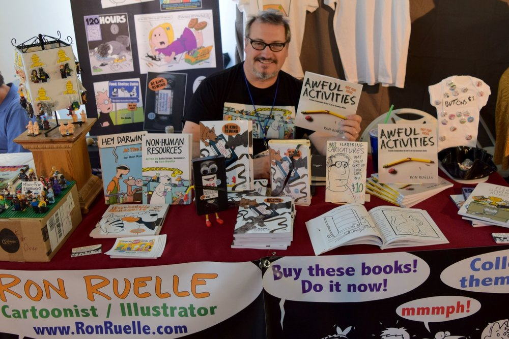 Ron Ruelle at DINK! 2018.