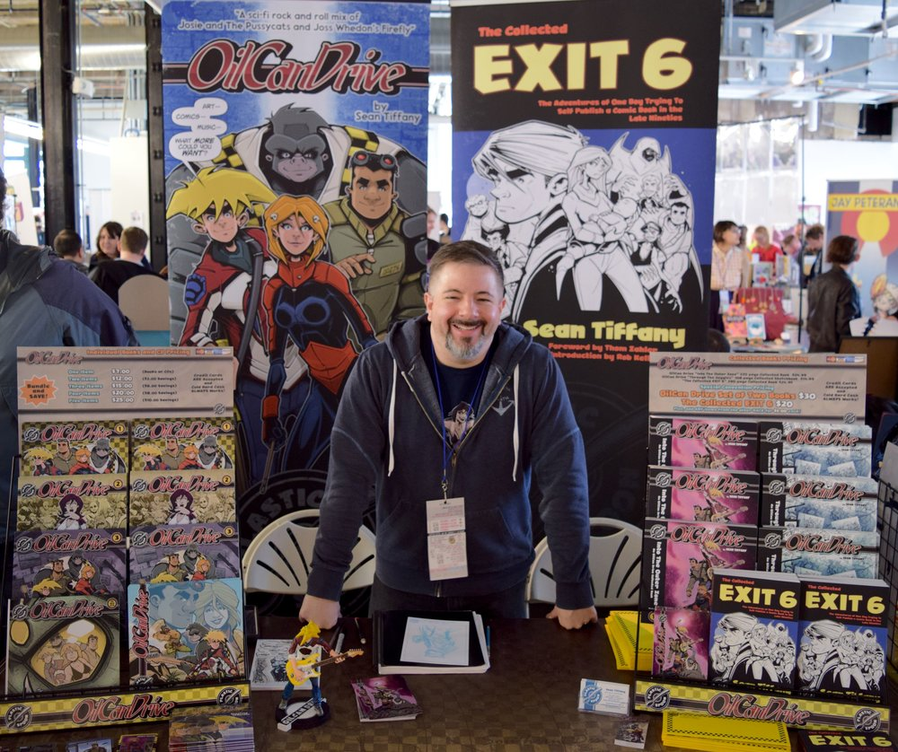 Sean Tiffany at DINK 2018.