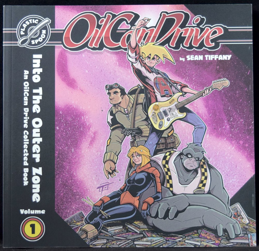 OilCan Drive Vol. 1: Into The Outer Zone by Sean Tiffany.