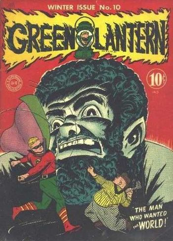Green Lantern (1941) #10, cover by Irwin Hasen.
